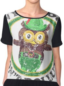 Woodsy The Owl Chiffon Top