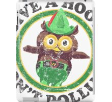 Woodsy The Owl iPad Case/Skin