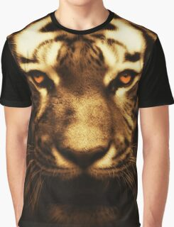 Gold Tiger Graphic T-Shirt