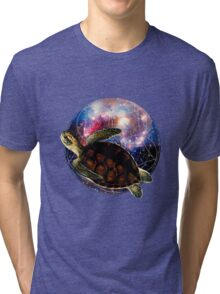 The Flight of the Turtle Tri-blend T-Shirt