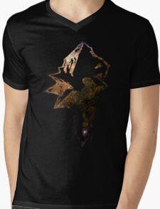 Final Fantasy IX logo universe Mens V-Neck T-Shirt