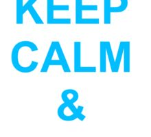 Keep calm and be peaceful Sticker