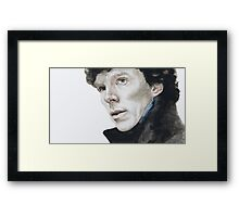 I heard you. Framed Print
