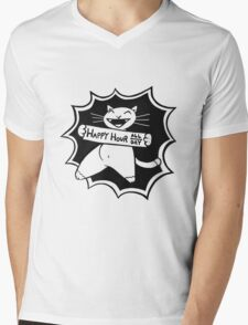 Happy Hour All Day Mens V-Neck T-Shirt