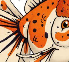 Fancy Goldfish Sticker