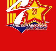 Automotive Car Art, Fictional Petrol fuel logo by RJWautographics