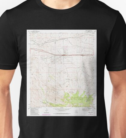 USGS TOPO Map Arizona AZ Mescal 312330 1973 24000 Unisex T-Shirt