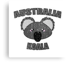 Koala vintage design - Australian animal  Canvas Print