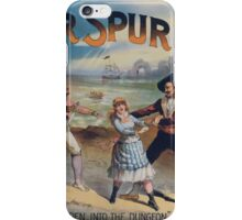 Performing Arts Posters Silver spur 2927 iPhone Case/Skin