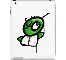 zombie graffiti iPad Case/Skin