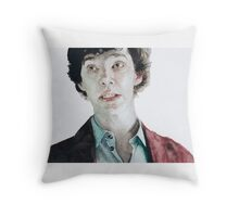 Plain as the nose on your... Throw Pillow