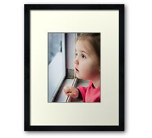What a cute face Framed Print