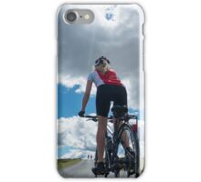 Cycling: The Open Road iPhone Case/Skin