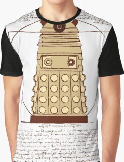 Vitruvian Dalek Graphic T-Shirt