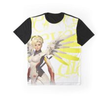 OVERWATCH 'Mercy': HEROES NEVER DIE [tshirts & tops] /Mercy Player Graphic T-Shirt