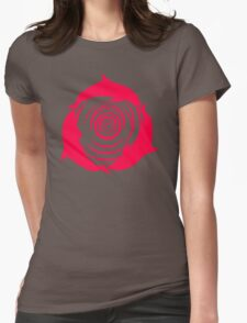 Dolphin In The Whirlpool Womens Fitted T-Shirt