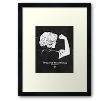 Proud To Be A Woman  Framed Print