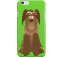 Wire-haired german shorthaired pointer iPhone Case/Skin