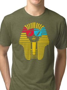 Egyptian With 3d Glass Tri-blend T-Shirt