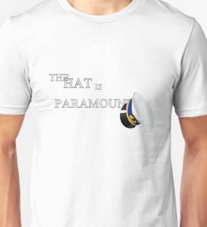 Cabin Pressure: The Hat is Paramount Unisex T-Shirt