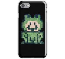 Super Mario Frog Vintage Pixels iPhone Case/Skin