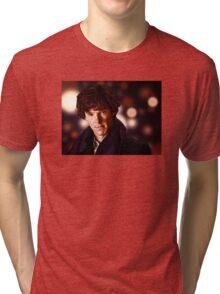 Sherlock Portrait Tri-blend T-Shirt