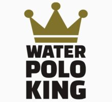 Water polo king crown Kids Clothes