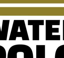 Water polo king crown Sticker