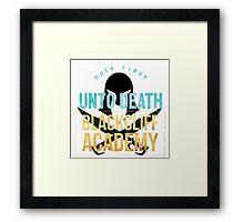 blackcliff academy Framed Print