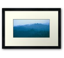 Cloud forest in northern Panama Framed Print