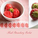 Fresh Strawberry Sorbet by Kasia-D