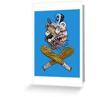 Go Chicago Baseball Greeting Card
