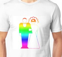 Rainbow Wedding Unisex T-Shirt