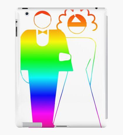 Rainbow Wedding iPad Case/Skin