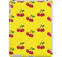 Cherry background iPad Case/Skin