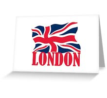 LONDON RED Greeting Card