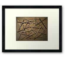 Random Three Framed Print