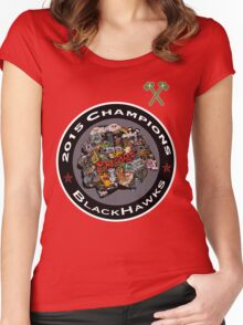 Chicago  Logo Women's Fitted Scoop T-Shirt