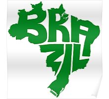 Brazil Green Poster