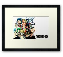 One Punch Man Framed Print
