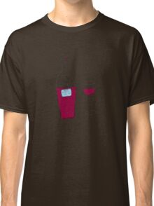 by Bethany - RED wine Classic T-Shirt