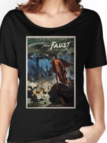 Performing Arts Posters Lewis Morrisons magnificent new Faust 2792 Women's Relaxed Fit T-Shirt
