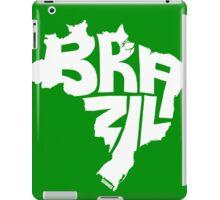 Brazil White iPad Case/Skin