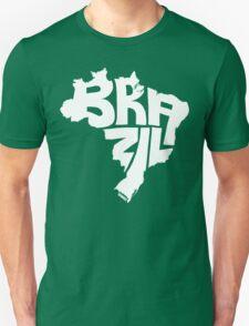 Brazil White T-Shirt