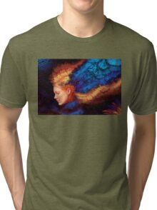 Seeing Threw Tri-blend T-Shirt