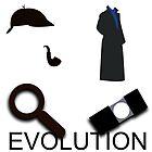 Evolution of Sherlock Holmes by nero749
