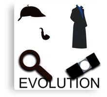 Evolution of Sherlock Holmes Canvas Print