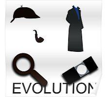 Evolution of Sherlock Holmes Poster
