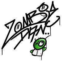 graffiti zombie by zombiedan