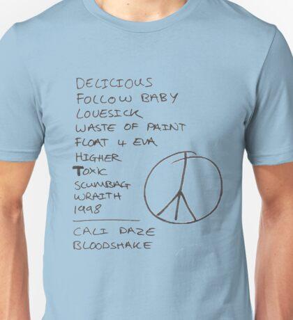 Peace Setlist Unisex T-Shirt